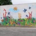 Eindresultaat muurschildering